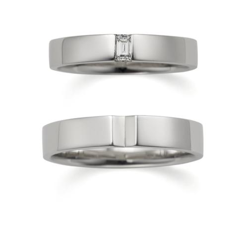 ORECCHIOオレッキオの結婚指輪でアマンコレクションのLF842/843