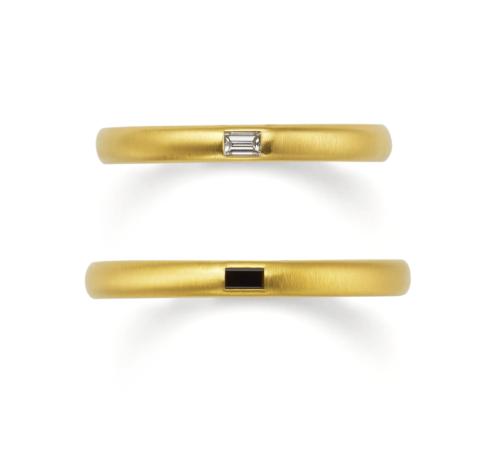 ORECCHIOオレッキオの結婚指輪でアマンコレクションのLF943/943M