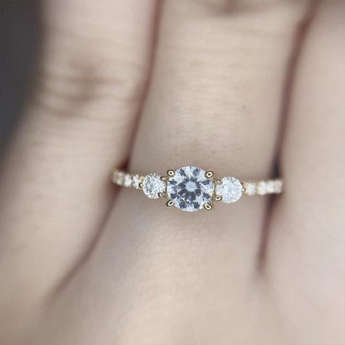 YUKA HOJOComet、YUKA HOJO婚約指輪、