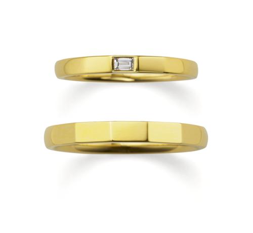 ORECCHIOオレッキオの結婚指輪でサファリコレクションのSP157/157M