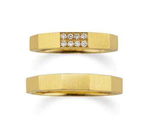 おしゃれ結婚指輪ブランドORECCHIOサファリコレクションのLF839/838