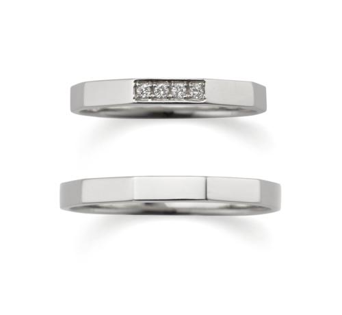 ORECCHIOオレッキオの結婚指輪でサファリコレクションのLF868/868M