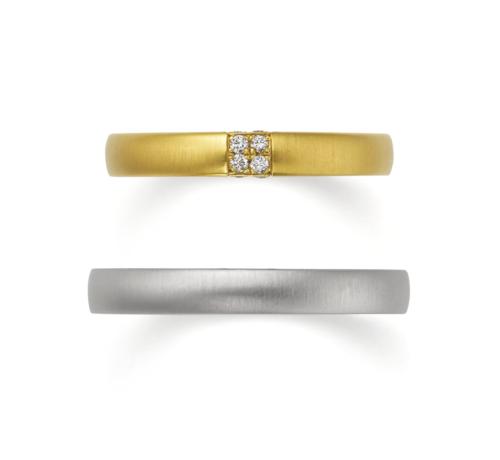 ORECCHIOオレッキオの結婚指輪でモナココレクションのLF832/833