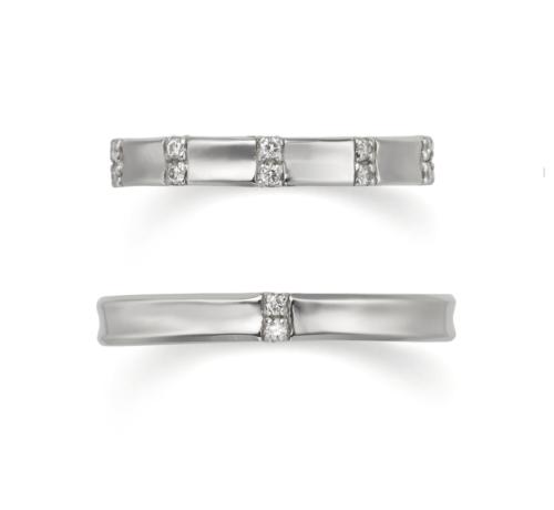ORECCHIOオレッキオの結婚指輪でモナココレクションのSP3477/3478コレクション