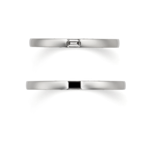 ORECCHIOオレッキオの結婚指輪でモナココレクションのLF1002/1002M