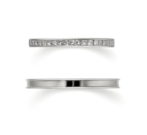 おしゃれ結婚指輪ブランドORECCHIOモナココレクションのLF999/1000