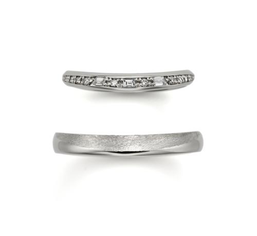 ORECCHIOオレッキオの結婚指輪でモナココレクションのLF1692/1693