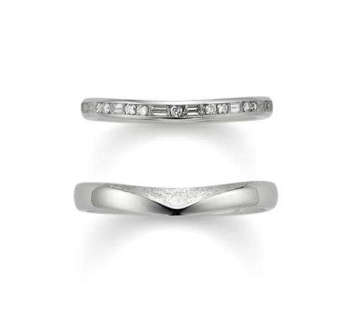 ORECCHIOオレッキオの結婚指輪でモナココレクションのLF1694/1695