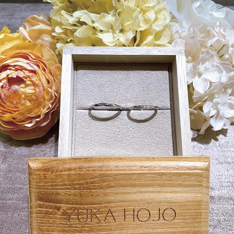 YUKA HOJORay of light、YUKA HOJO婚約指輪、