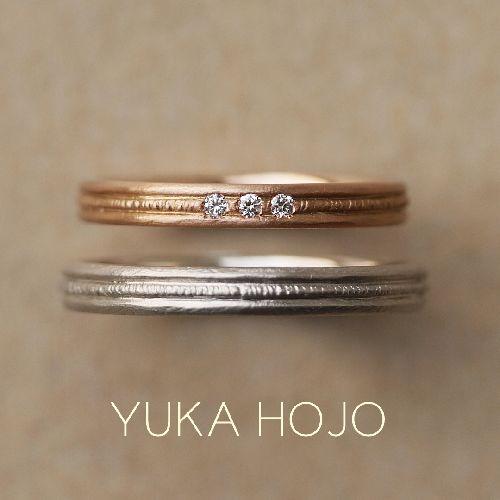 YUKAHOJOユカホウジョウの結婚指輪でカーム