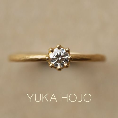 YUKAHOJOユカホウジョウの婚約指輪でカプリ