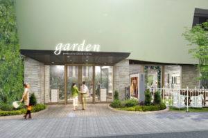 garden心斎橋の店前画像