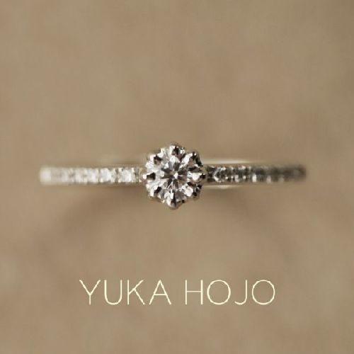 YUKAHOJOユカホウジョウの婚約指輪でヘブン