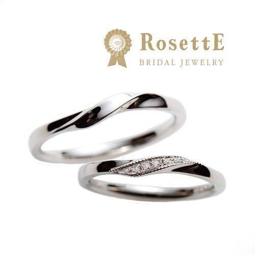 おしゃれな結婚指輪ブランドのRosettEでファウンテン