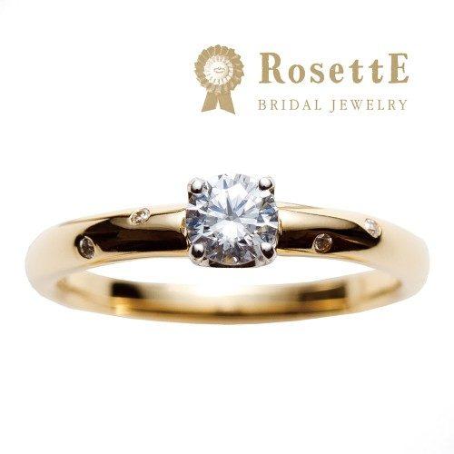 RosettEロゼットの婚約指輪でツインクル