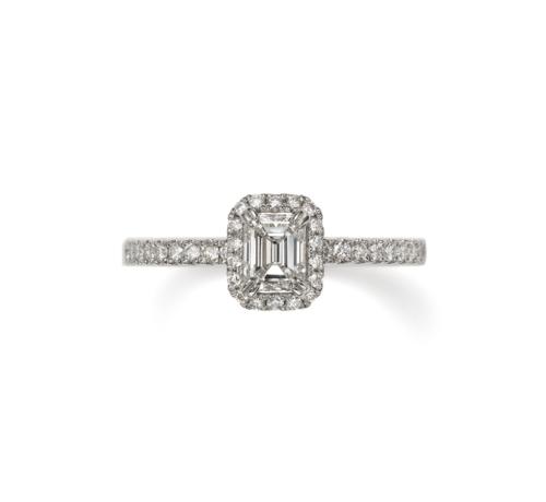 ORECCHIOオレッキオの婚約指輪でシエナコレクションのLF1790