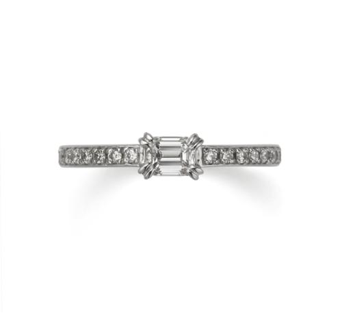 ORECCHIOオレッキオの婚約指輪でシエナコレクションのLF808