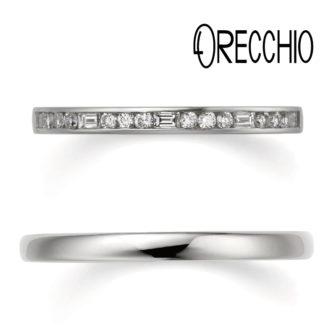 ORECCHIOオレッキオの結婚指輪でシエナコレクションのLF863/844