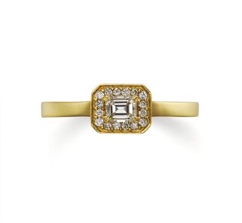 ORECCHIOオレッキオの婚約指輪でシエナコレクションのLF874
