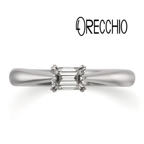 ORECCHIOオレッキオの婚約指輪でピピコレクションのLF888