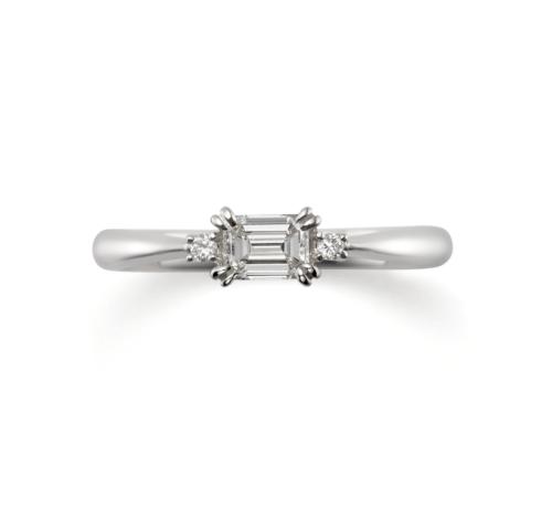ORECCHIOオレッキオの婚約指輪でピピコレクションのLF950