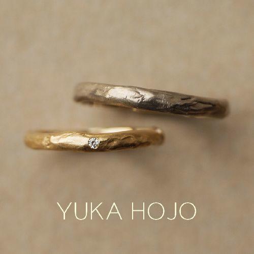 YUKAHOJOユカホウジョウの結婚指輪でマンゴーツリー
