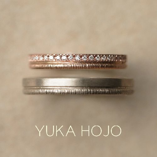 お洒落結婚指輪ブランドYUKAHOJOでパス