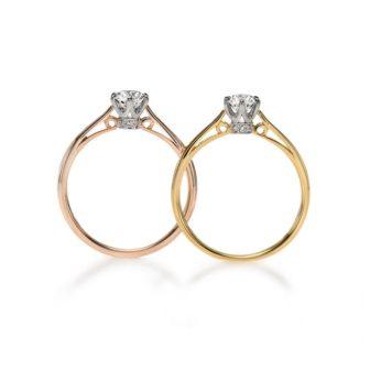 LAPAGEラパージュのクラシックコレクションの婚約指輪でポン・マリー