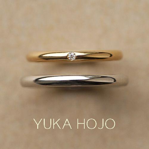 YUKAHOJOユカホウジョウの結婚指輪でソウルメイト