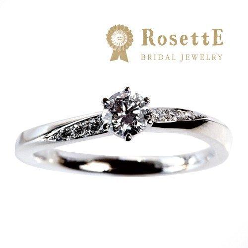 RosettEロゼットの婚約指輪で月あかり