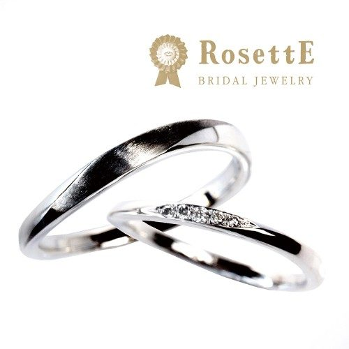 RosettEロゼットの結婚指輪で月あかり