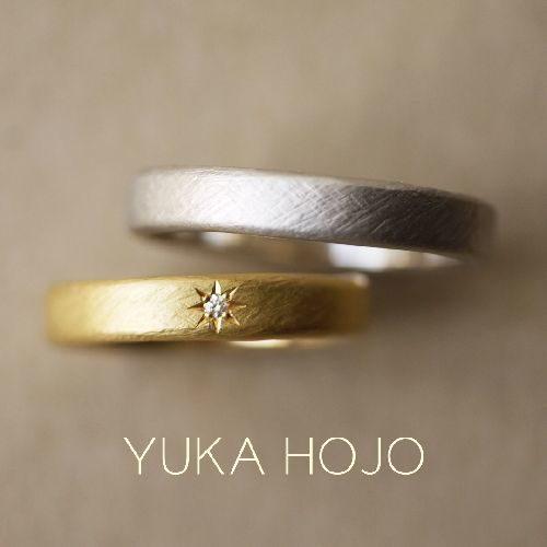 YUKAHOJOユカホウジョウの結婚指輪でウィーブ