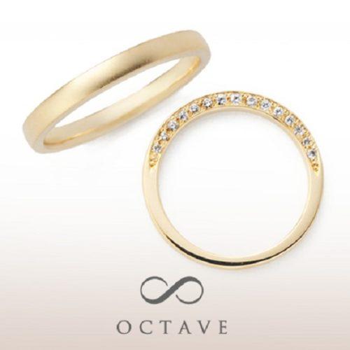 OCTAVEオクターヴの結婚指輪でエクラ