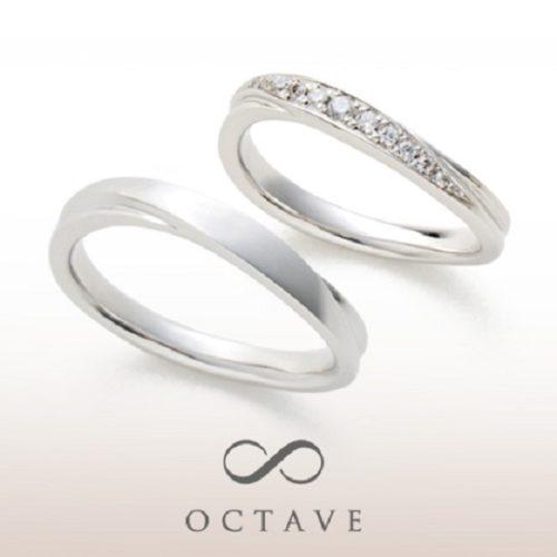 OCTAVEオクターヴの結婚指輪でシャルール