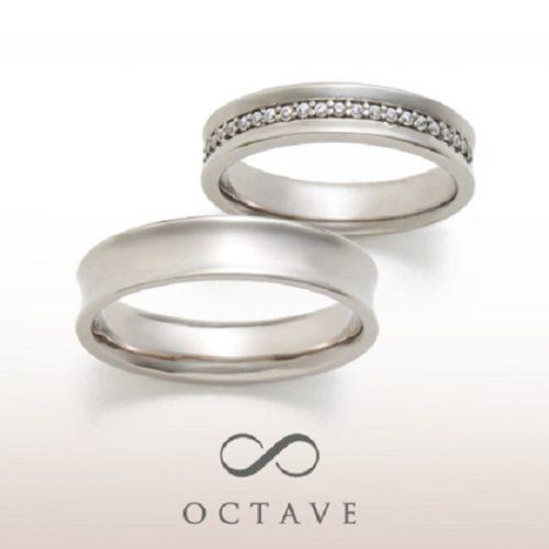 OCTAVEオクターヴの結婚指輪でボヌール