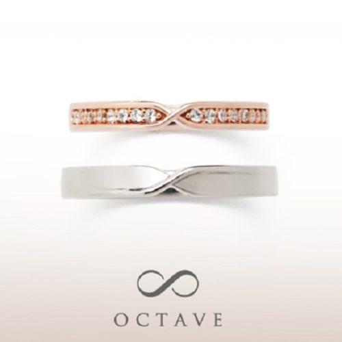 OCTAVEオクターヴの結婚指輪でジュレ