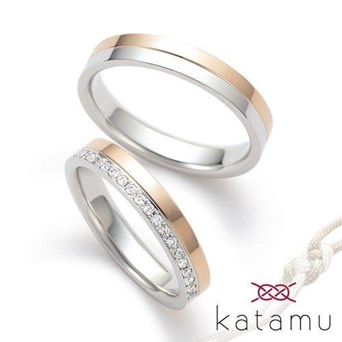 Katamuカタムの結婚指輪で八千代