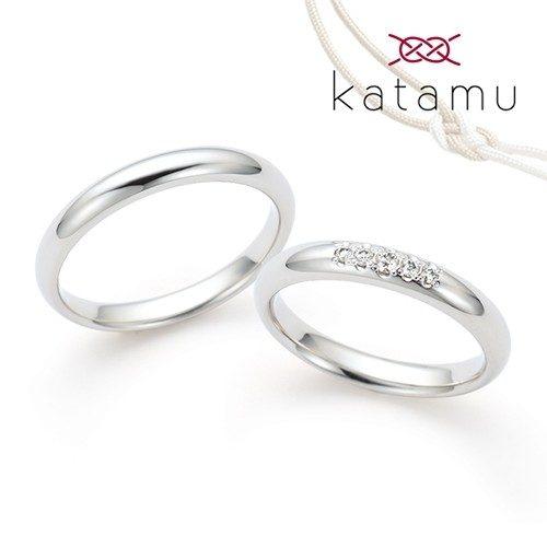 Katamuカタムの結婚指輪で春光