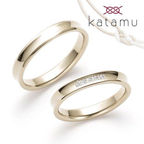 Katamuカタムの結婚指輪で長閑