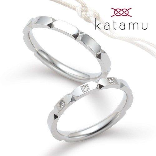 Katamuカタムの結婚指輪で折り紙