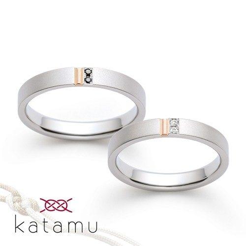 Katamuカタムの結婚指輪で紅