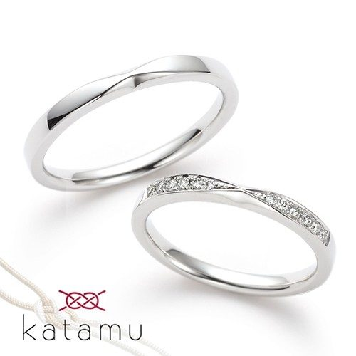 Katamuカタムの結婚指輪で千幸