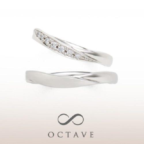OCTAVEオクターヴの結婚指輪でヌウェ