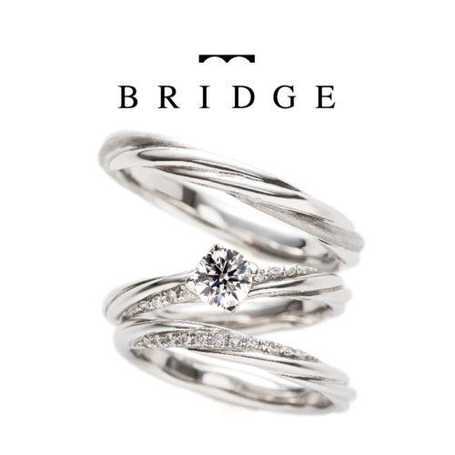 ブリッジのセットリングでよろこびの絆と永遠の絆