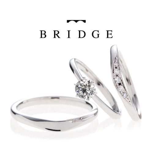 ブリッジの結婚指輪でライオンの橋