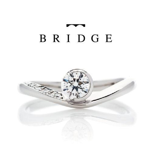 ブリッジの婚約指輪で月の導き