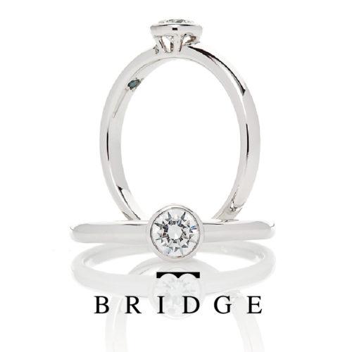 ブリッジの婚約指輪ではじまりの光