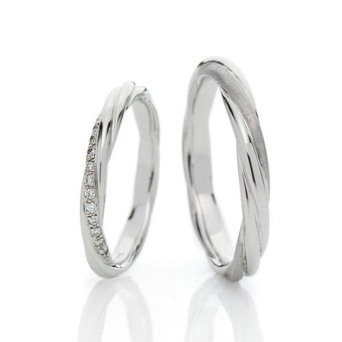 ブリッジの結婚指輪で永遠の絆