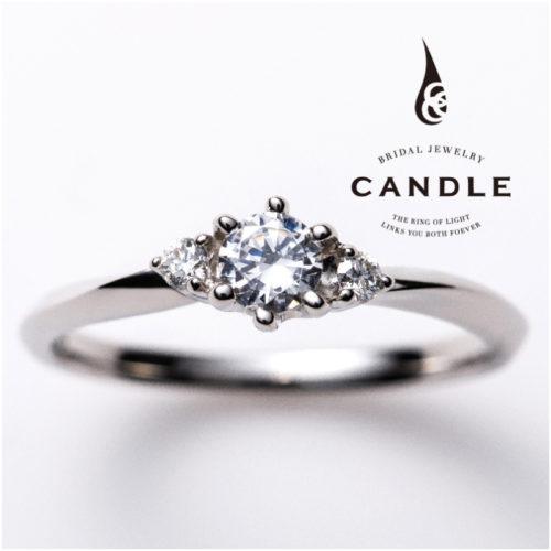 キャンドルの婚約指輪でスパイラル