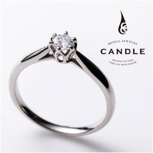 キャンドルの婚約指輪でラウンド